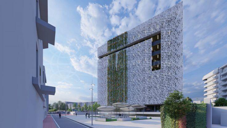 Estepona construye un nuevo ayuntamiento y complejo de aparcamiento