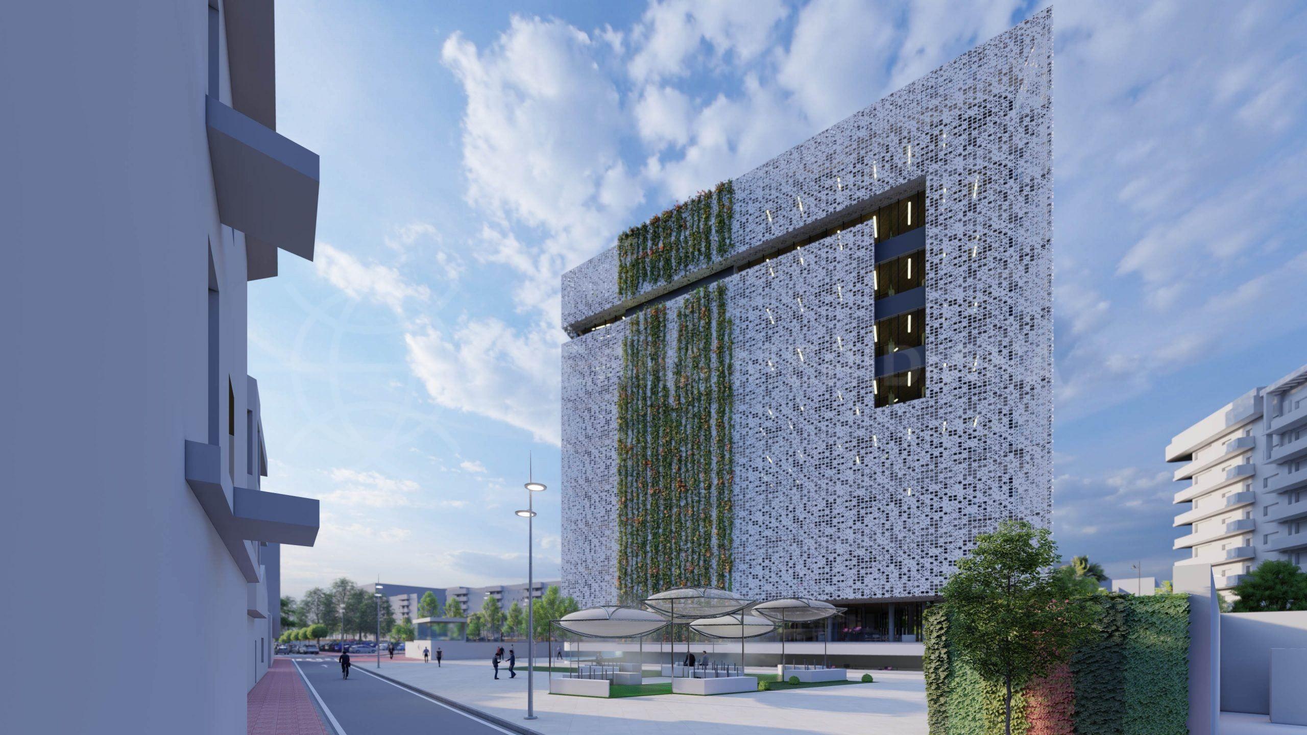 Estepona construit un nouvel hôtel de ville et des parkings souterrains