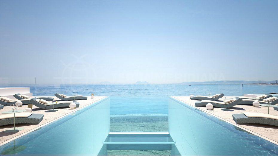 Rooftop pool in Pininfarina Estepona
