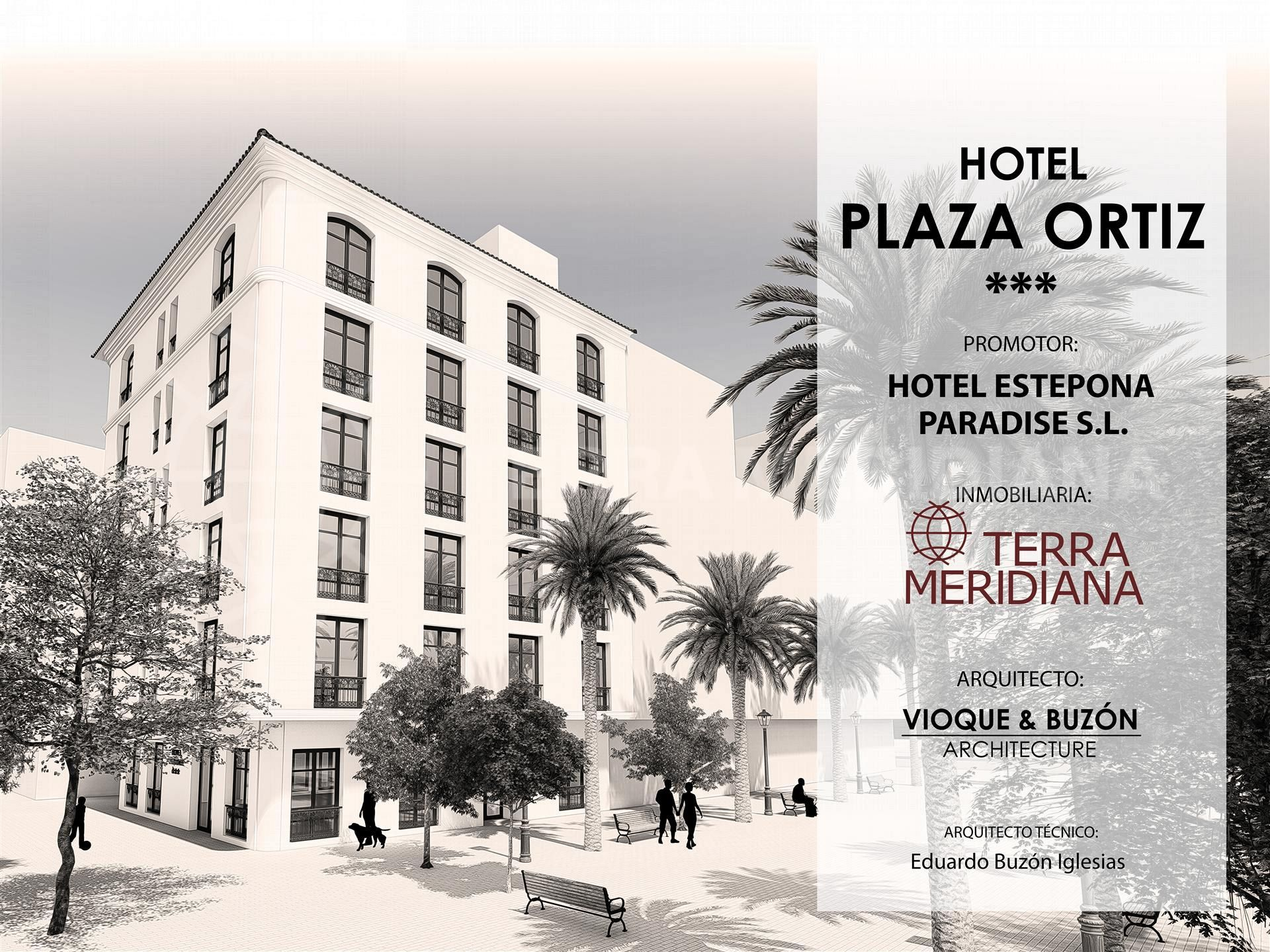 Terra Meridiana assists in development of two exciting new hotel projects in Estepona centre