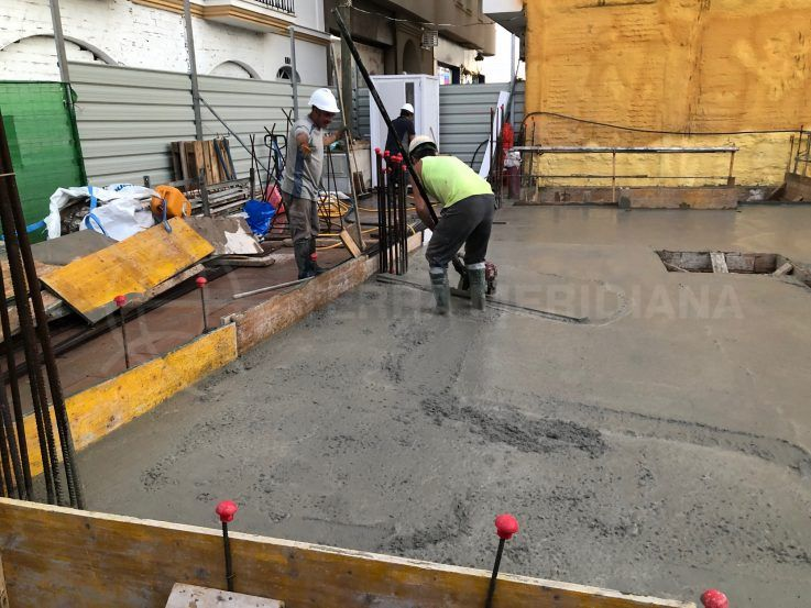 Stage 3 – Construction basement and ground floors
