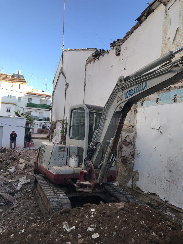 Stage 1 – Demolition!
