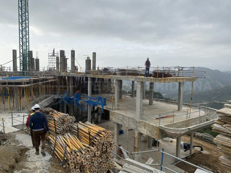 Stage 2 – Construction of levels begins in earnest