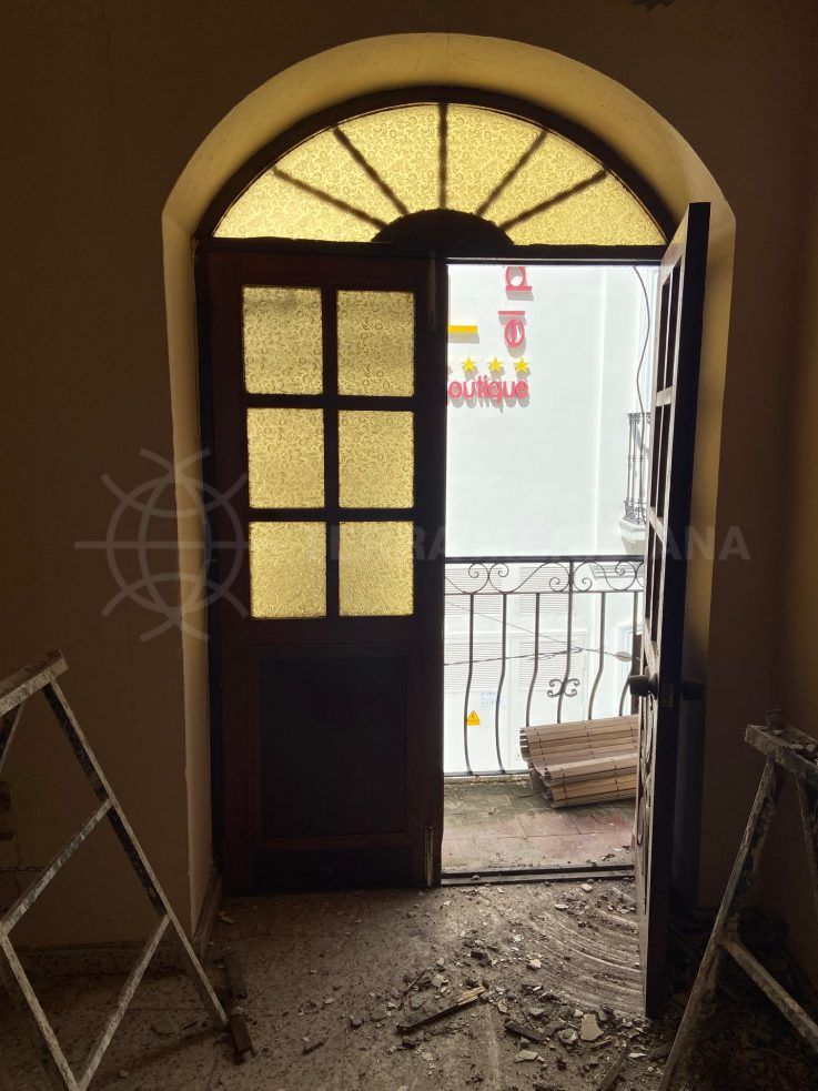Stage 1 – Removal of old windows and doors and floors
