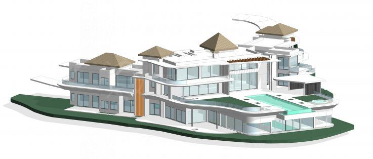Villa Agata: incredible contemporary property in La Zagaleta takes shape
