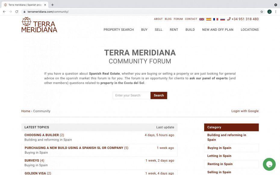 Terra Meridiana Community Forum