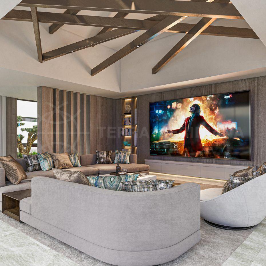 Villa Agata TV Room